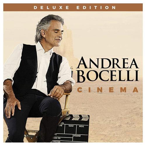 """""""Cinema"""", Andrea Bocelli (Decca, Sugar, Universal, Verve)"""